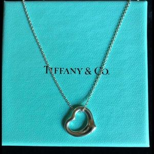 Elsa Peretti Open Heart Necklace